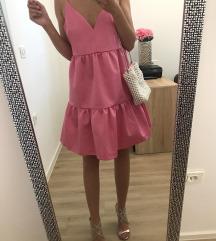 H&M roza HIT haljina, broj 42/44