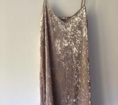 Zara plišana haljina- NOVO