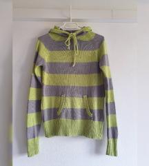 Pletena majica s kapuljačom, 100% pamuk, kao nova