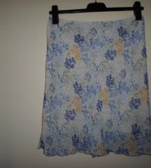 Benetton suknja sa cvjetićima vel.40