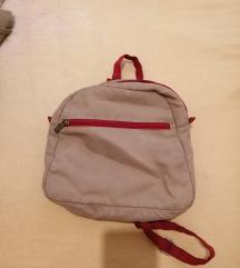 Mini ruksak bež boje