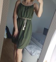 Maslinasta ljetna haljina