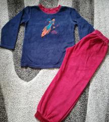 Plišana pidžama 110 116