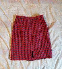 Retro uska suknja