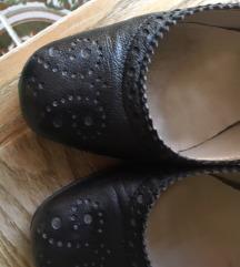 Kožne cipele s uzorkom