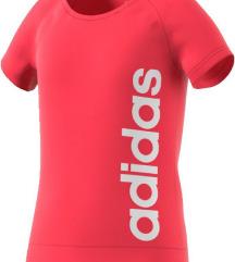 Sportska roza adidas majica kratkih rukava