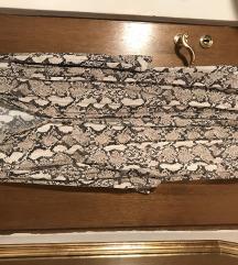 HM haljina zmijski uzorak
