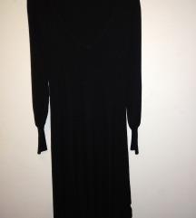 Zara pletena haljina M/L