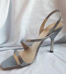 Original miu miu srebrne sandale