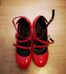 Lakirane cipele s remencicima