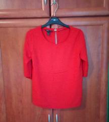 MANGO Suit crvena košulja/bluza