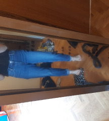 traperice mom jeans mango 38
