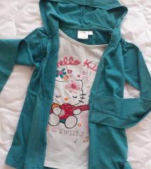 Majica 2u1 Hello Kitty  vel. 122/128