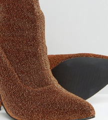 Bershka glitter sequin gleznjace cizme
