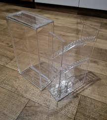 Prozirni stalak za nakit