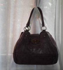 Guliver ljubičasta kožna torba