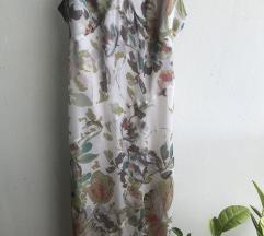 Kenzo svilena duga neravna haljina
