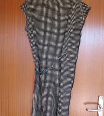 Asimetrična haljina M + remen