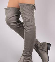 Overknee čizme (120 kn)