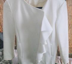 Zara bijeli kaputic/sako