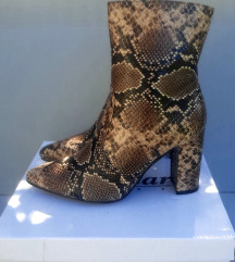 Gležnjače, snake print 39