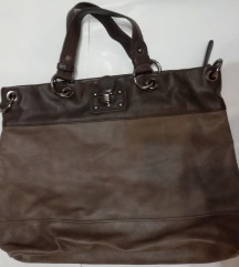 Smeđe-sivkasta torbica