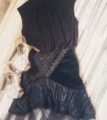 Smeđa Majca i suknja 38