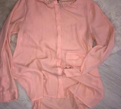 SNIŽENJE! NOVA CIJENA 25kn Baby roza košulja