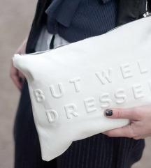 Zara bijela pismo torbica