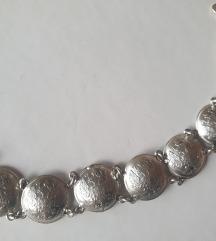 Narukvica pravo srebro 925