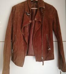 Kožna ženska jakna