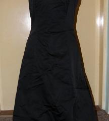 crna koktel haljina