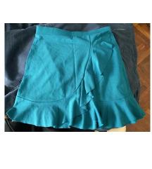 Nova kratka tirkizna suknja veličina S