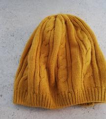 Pletena žuta kapa