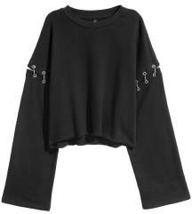 H&M majica sa zakovicama vl.S