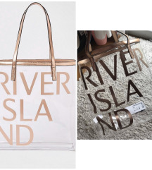 RIVER ISLAND torba za plazu