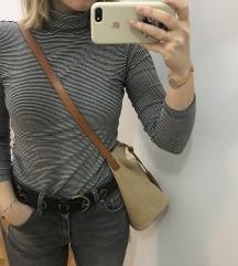J.Jill kožna bucket torba smeđa bež