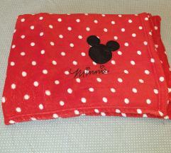 Minnie mouse crvena deka