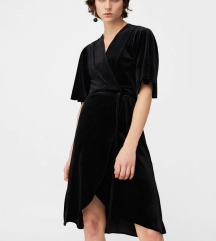 Mango Black Velvet haljina