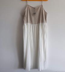 Zara plisirana haljina L-XL