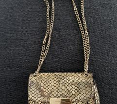 SNIZENO%% zlatna torbica