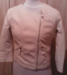 zip bijela jakna 38