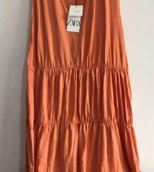 Zara pamučna haljina do 3XL