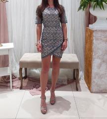 Svečana haljina s 3D čipkom