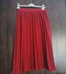 Reserved plisirana suknja vel S
