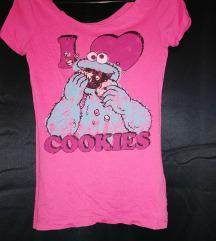Pimkie majica na Cookie Monstera