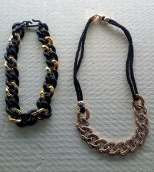 Dvije lanac/ogrlice
