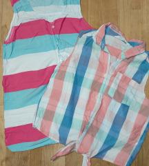 H&M 2 lagane košuljice 164/170