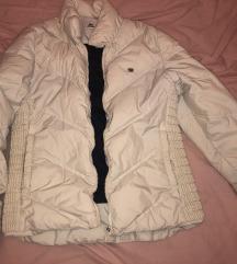 Bijela Lacoste jakna
