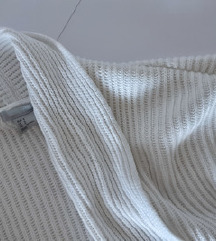 H&M bijela končana vestica